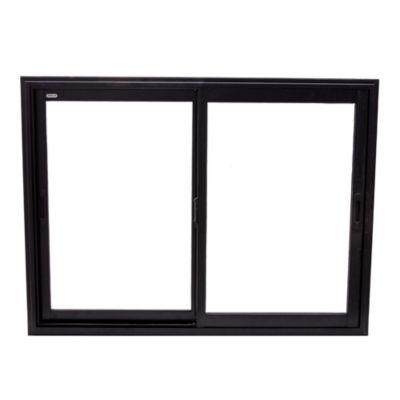 Ventana de aluminio negra 120 x 90 x 10 cm