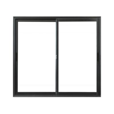 Ventana balcón aluminio negra 150 x 200 x 10 cm