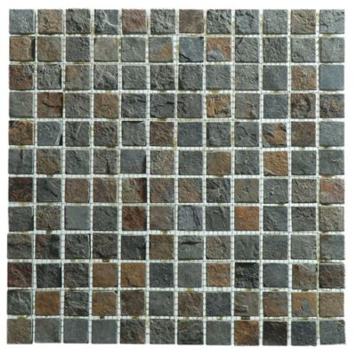 Malla mosaico 30 x 30 cm bamak 2 x 2 oxido