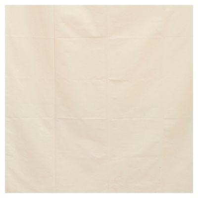 Cortina gross con pliegues hueso 110 x 220 cm