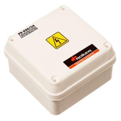 Caja plástica de paso estanca ip65 92 x 92 x 54 mm