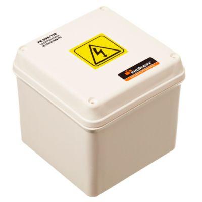 Caja plástica de paso estanca ip65 115 x 115 x 110 mm