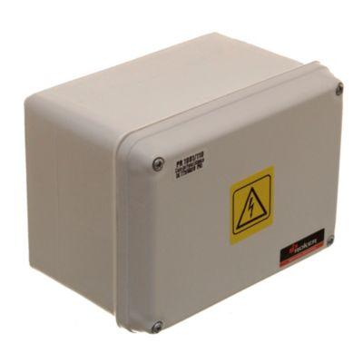 Caja plástica de paso estanca ip65 122 x 166 x 110 mm