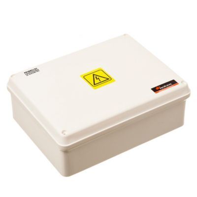 Caja plástica de paso estanca ip65 162 x 212 x 81 mm