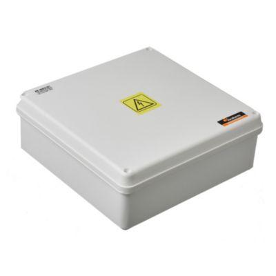 Caja plástica de paso estanca ip65 211 x 211 x 81 mm