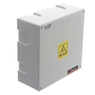 Caja plástica de derivación y conexión ip41 152 x 152 x 66 mm