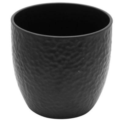 Maceta boston negro 16 cm