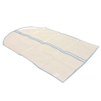 Fundas blancas para ropa x 4 u 60 x 92 cm