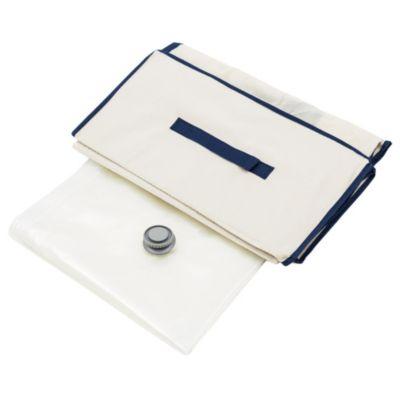 Bolsa ahorra espacio + caja de tela 100 x 100 cm