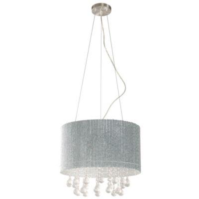 Lámpara de techo colgante 5 lúces aluminio g9