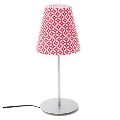 Lámpara de mesa una luz metal/burbuja e27