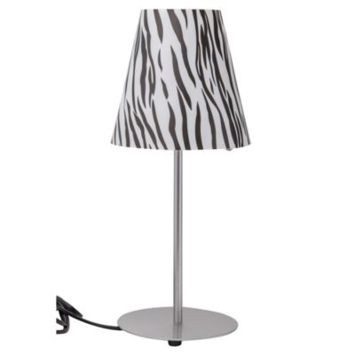 Lámpara de mesa animal print 1l e27