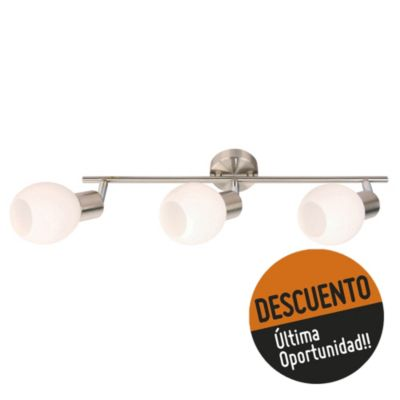 Spot de techo o pared tres luces bocha