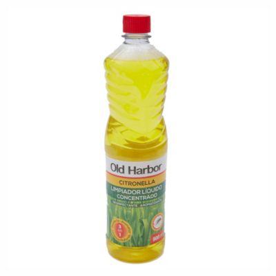 Limpiador para pisos con citronella