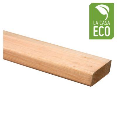 Madera para deck de eucalipto 1 x 3 x 3.05 mts