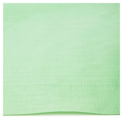 Rafia laminada con ojales verde 1,50 m