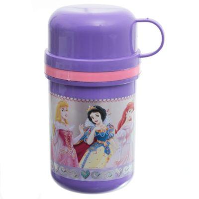 Termo con taza princesas