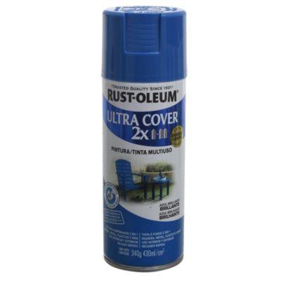 Pintura en aerosol multiuso Ultra Cover 2x azul brillante 340 g