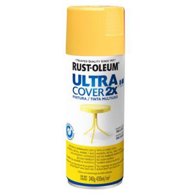 Pintura en aerosol multiuso Ultra Cover 2x amarillo Sol brillante 340 g