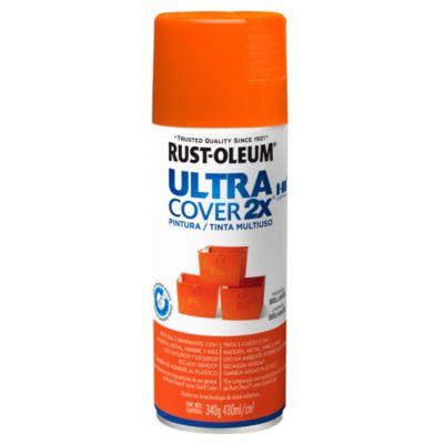 Pintura en aerosol multiuso Ultra Cover 2x naranja brillante 340 g