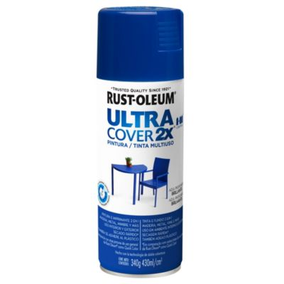 Pintura en aerosol multiuso Ultra Cover 2x azul profundo brillante 340 g
