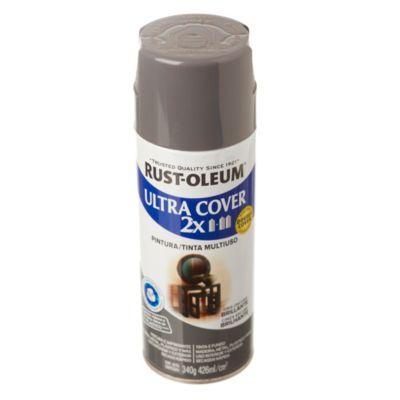 Pintura en aerosol multiuso Ultra Cover 2x gris oscuro brillante 340 g