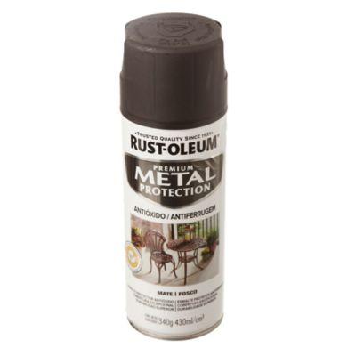 Convertidor de óxido en aerosol stops-rust negro mate 340 g