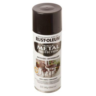 Convertidor de óxido en aerosol stops-rust negro brillante 340 g