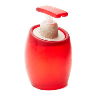 Dispenser bombé rojo