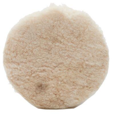 Disco bonete cuero de corderito y lana 9