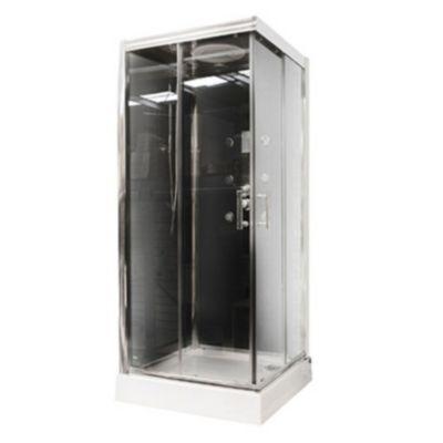 Cabina de ducha musical negra