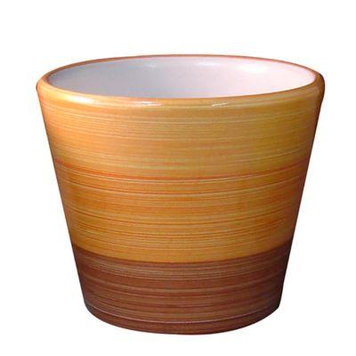 Maceta cerámica colores 14 cm