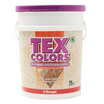 Revestimientos texturado exterior tex color paris blanco 25 kg