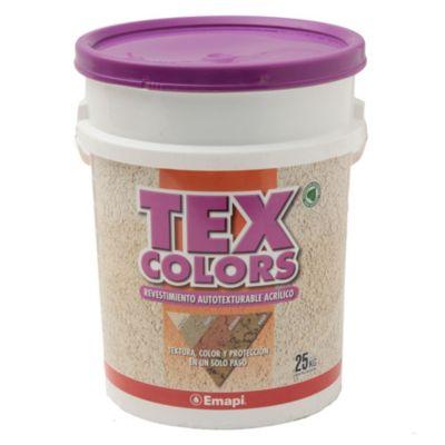 Revestimientos texturado exterior tex color rabat blanco 25 kg