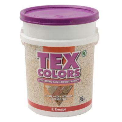 Revestimientos texturado exterior tex color rabat tiza 25 kg