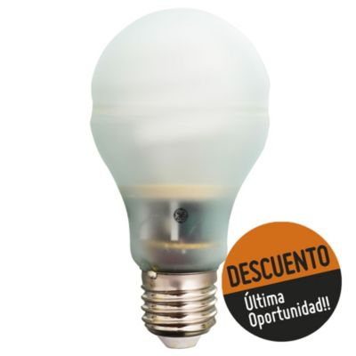 Lámpara bajo consumo 15 w fría E27