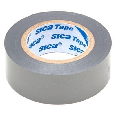 Cinta aisladora de PVC gris 10 m