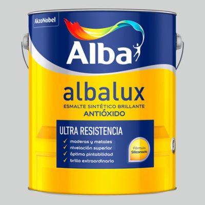 Esmalte sintético brillante Albalux aluminio 1 l
