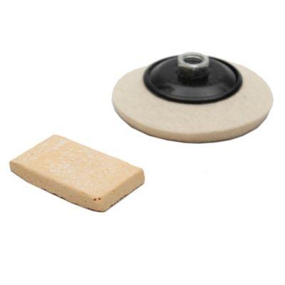 Disco de paño para pulir 100 mm