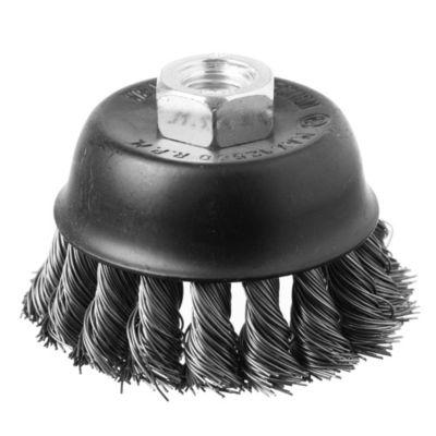 Disco cepillo circular trenzado 75 mm