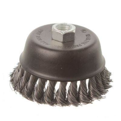 Disco cepillo circular trenzado 110 mm