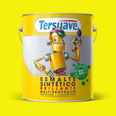 Esmalte sintético brillante amarillo 4 l