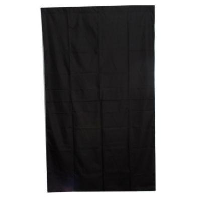 Cortina blackout negro 130 x 220 cm