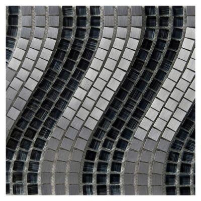Onda aluminio y vidrio gris oscuro