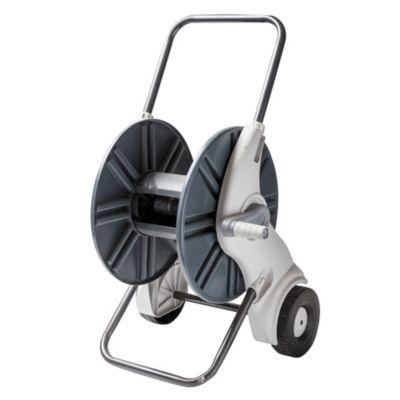 Carro porta mangueras con ruedas confort