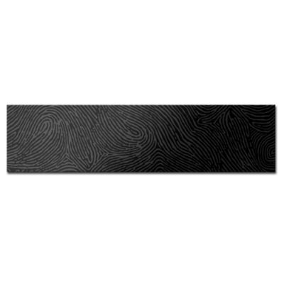 Revestimiento cerámico 20 x 80 spectrum digital negro 0.16 m2