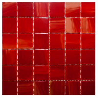 Malla mosaico Óleo rojo
