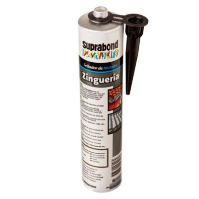 Sellador para zinguería y canaletas 300 ml aluminio