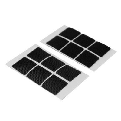 Abrojo cuadrado negro 25 mm por 6 u