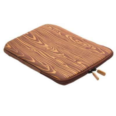 Funda para ipad símil madera
